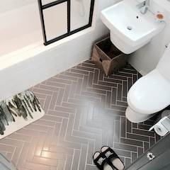 제가 계획한 화장실이 그대로 만들어져서 행복했습니다 작지만 저에겐 딱 좋은 욕실입니다!