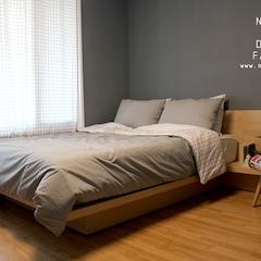 방은 침실, 드레스룸, 파우더룸으로 각각의 공간의 사용목적에 맞춰 레이아웃이 구성되었습니다.