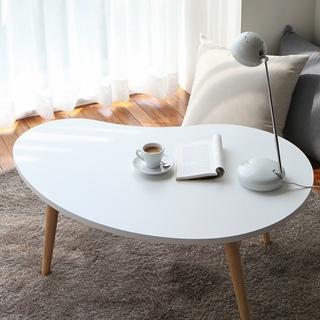 [자취특가] 원목 커피테이블 D 화이트