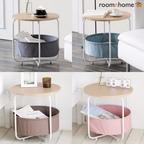 까사 원형 수납 테이블 4colors
