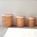 라탄 런드리바스켓 3종 택1