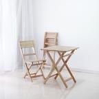 원목 접이식 카페테이블&의자