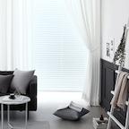 [1+1] 소프트화이트 모먼트 암막커튼 (창문형/긴창형)