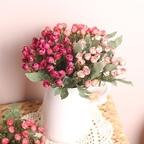 쁘띠 장미 부쉬 조화(3color)
