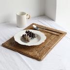 라탄 사각 테이블 매트(1P)