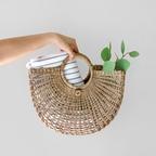 해초 반달 가방