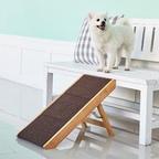 [오늘의딜] 강아지 원목 계단 + 슬라이드스텝