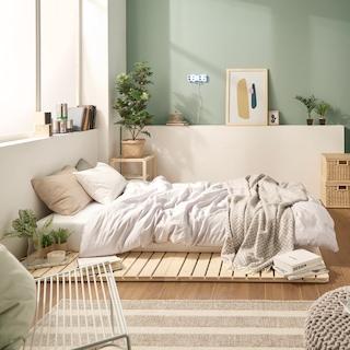 [주말특가] 어메이징 원목 침대깔판&매트리스 모음전