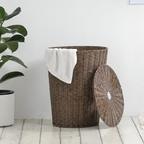바이홈 네추럴 라탄햄퍼 사각/원형