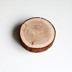 두꺼운 통나무 코스터