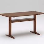 cafe table 1200 walnut