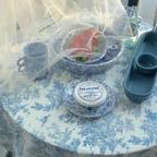 프렌치 테이블보