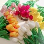 튤립 인테리어 조화꽃 5colors