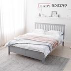 매트사양up 스칸딕 핀란드 원목 침대 SS/Q 6colors