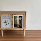 [오늘의딜] 케인 매거진랙 사이드테이블(케인협탁)