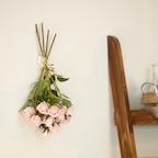 프렌치 핑크 로즈 조화
