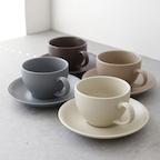 에크렌 커피잔1인 세트 (4color)