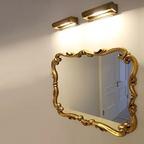 ASF/AGF 05030 엔틱 인테리어 거울 (2 color 실버/골드)