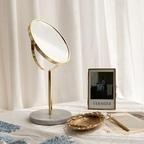 골드 마블 탁상 거울 2 color