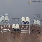 심플 인테리어 실내화 정리대/슬리퍼 걸이 2color 2size