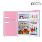 레트로 글라스 소형 냉장고 RD09APKH 90L