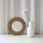 라탄 화장대 벽걸이 거울 월데코 인테리어소품 6type