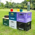 나룸 FUR-001 캠핑용 밀크박스&우드상판 set