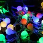 앵두전구 투명선 컬러 크리스마스전구