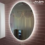 타원형 직간접 LED 거울 585x785