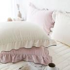 극세사 프릴캉캉 패드, 베개커버 - 3colors 6type