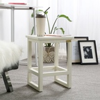 LOYDN 원목 모던 사각 스툴 보조 의자 4color