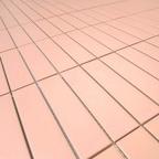 GS3214-PINK-M 직사각 무광 핑크 모자이크 타일 11장 292.5X277.5mm