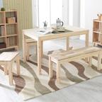 원목 인테리어 식탁 테네로테이블 3Size (삼나무/아카시아)