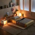 [단독특가] 북유럽 원목 침대 매트리스 깔판 6size