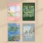클로드 모네 Monet 풍경화 인테리어 액자 포스터 10종 10type