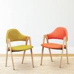 비올렛 패브릭의자 식탁의자 4colors