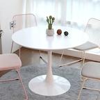 [주말특가] 플로윙/루나 원형테이블 4type 3colors