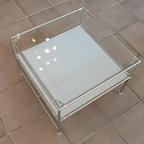 모듈 2단 정사각형 좌식테이블 11colors
