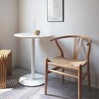 룸 체어 카페 인테리어 와이 식탁 라탄 의자