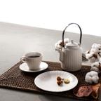 사과형 커피잔 2조 세트 3colors