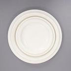 Si Racuse 시라쿠스 플레인 플레이트/시라쿠스 원형 접시 (4size)