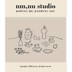 nm,nu studio poster 4size