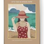 인테리어 포스터 액자 - 여름 바다 3size