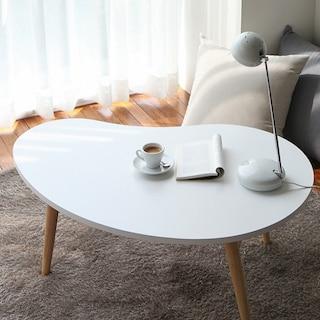 원목 커피테이블 D 화이트