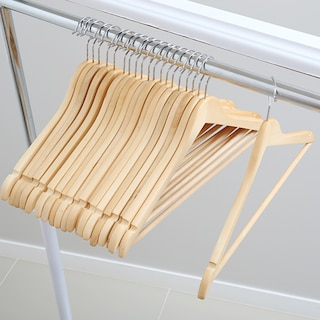 프리미엄 원목옷걸이 20p