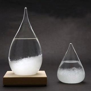 기상예측 유리병 템포드롭(Strom Glass)