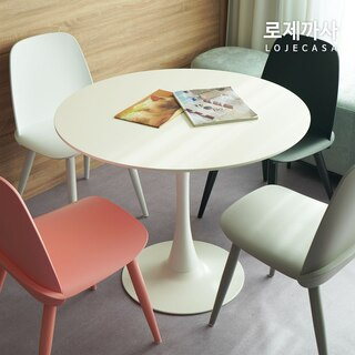 [단독특가] 더블린 원형테이블 2인/4인 택1