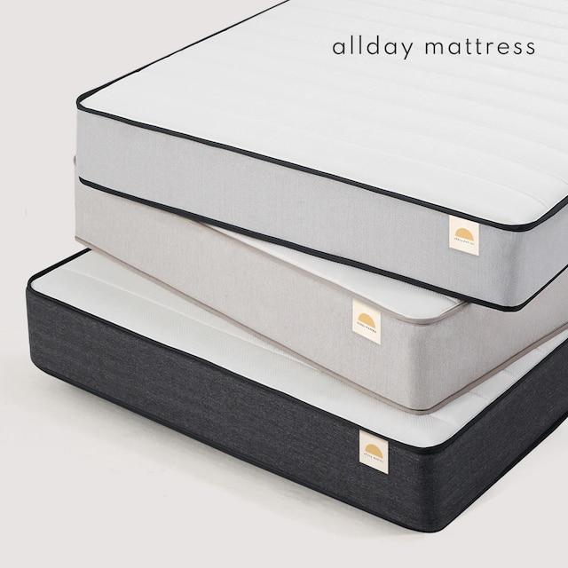 포더홈 올바른 올데이 본넬스프링 침대 매트리스 3colors (싱글/슈퍼싱글/퀸/킹) - 올데이 본넬스프링 일반형 Q (퀸)_베이지