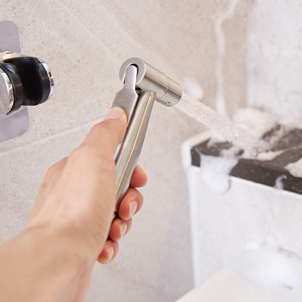 욕실 스프레이건 변기샤워기 (화장실청소)